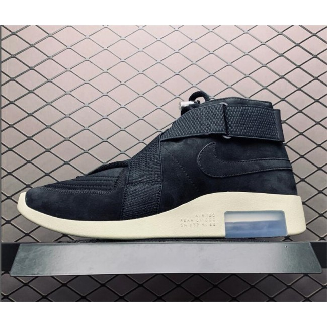 Mens Nike Air Fear of God 180 Black Fossil To AT8087-002