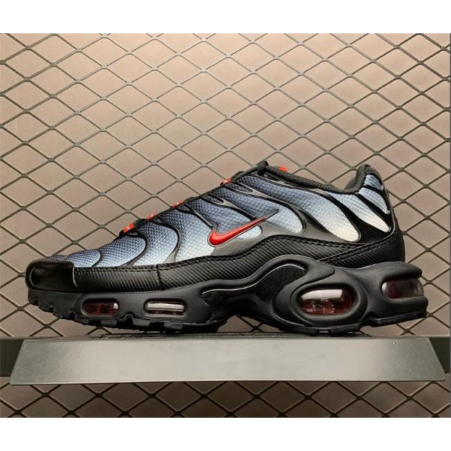 Mens Nike Air Max Plus Slick Black Grey Gradient