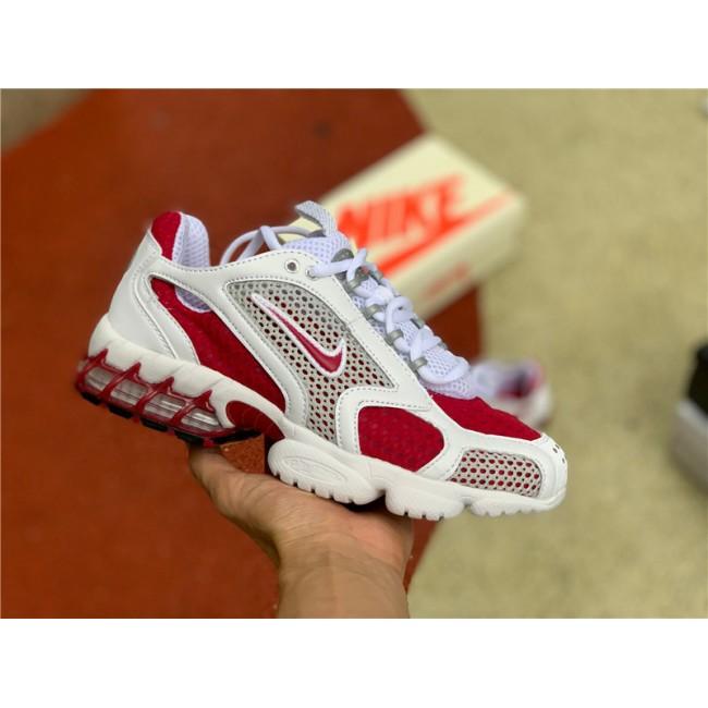 Womens 2020 Nike Air Zoom Spiridon Cage 2 Cardinal Red