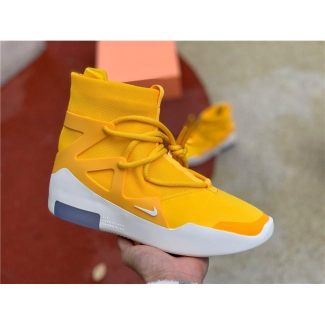 Mens 2020 Summer Nike Air Fear of God 1 Amarillo