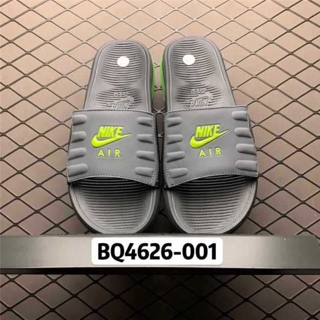 Mens/Womens Buy Nike Air Max Camden Black Green Slide Sandals