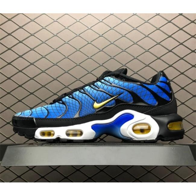 Mens Nike Air Max TXT Plus Greedy Black Blue
