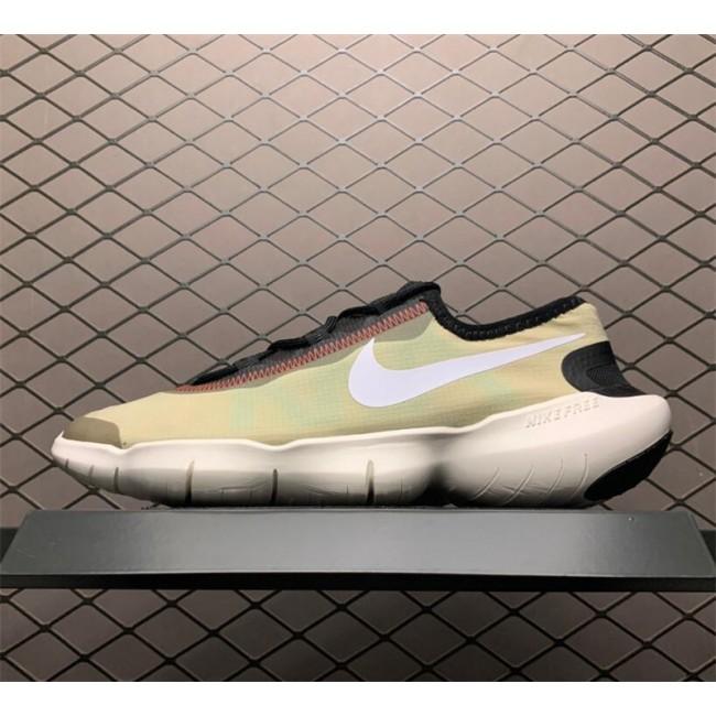 Mens/Womens Buy Nike Free RN 5.0 Olive Aura-Black-White