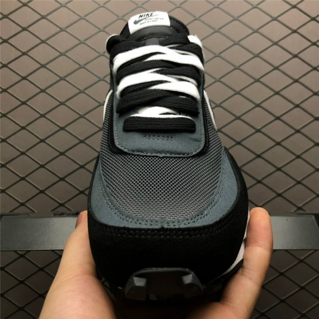 Mens/Womens Sacai x Nike LDV Waffle Daybreak Black White