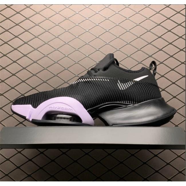 Mens/Womens Cheap Nike Air Zoom SuperRep Black White Running Shoes