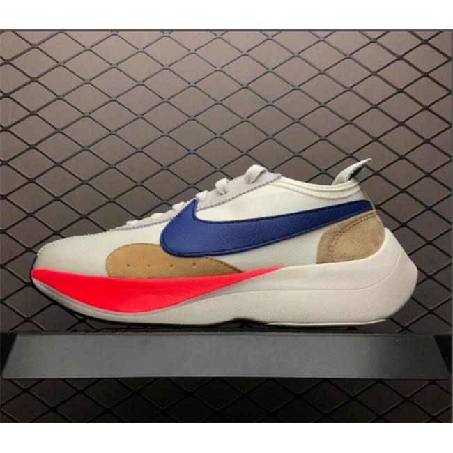 Mens/Womens Nike Moon Racer Sail Blue Red BV7779-100