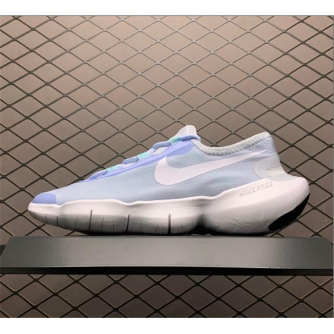 Womens Female Nike Free RN 5.0 2020 Hydrogen Blue White
