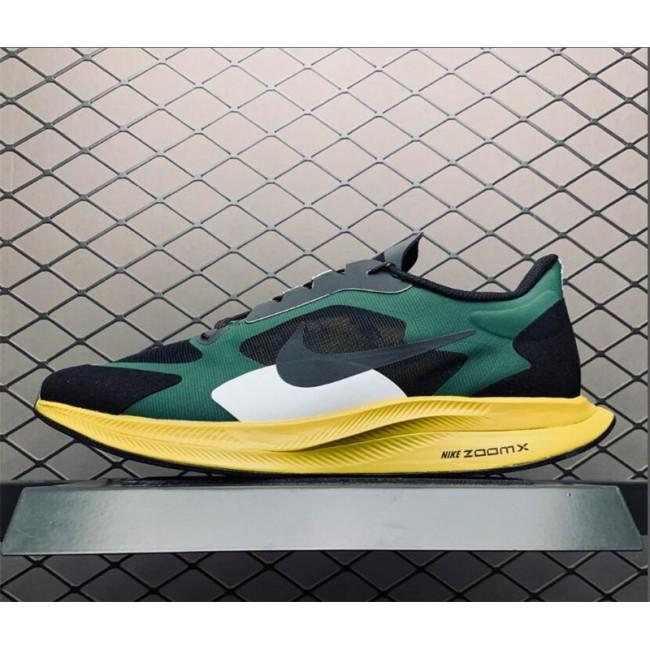 Mens Gyakusou x Nike Pegasus Turbo Black Green Running Shoes
