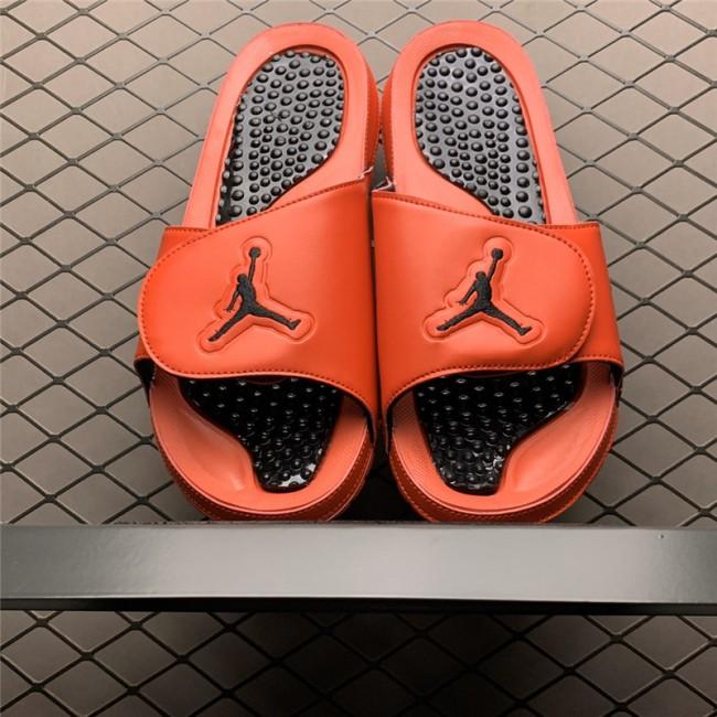 Mens Cheap Jordan 5 Retro Hydro University Red/Black Slide Sandals