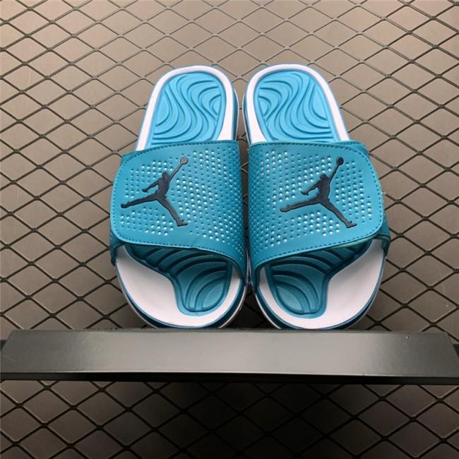 Mens Jordan Hydro 5 Hyper Turquoise Slide Sandals