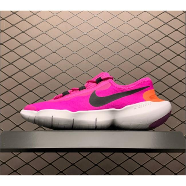 Womens Nike Free RN 5.0 2020 Fire Pink-Magic Ember-Black