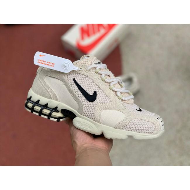 Mens/Womens Latest Stussy x Nike Air Zoom Spiridon Cage 2 Fossil