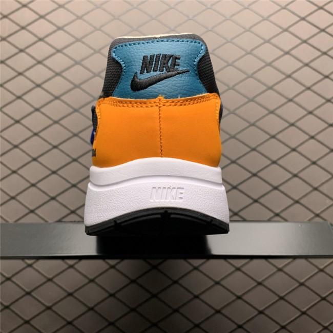 Mens Nike Atsuma Black Bright Spruce Srring Running Shoes