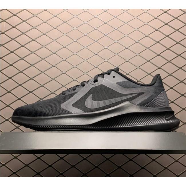 Mens Nike Downshifter 10 All Black For Running
