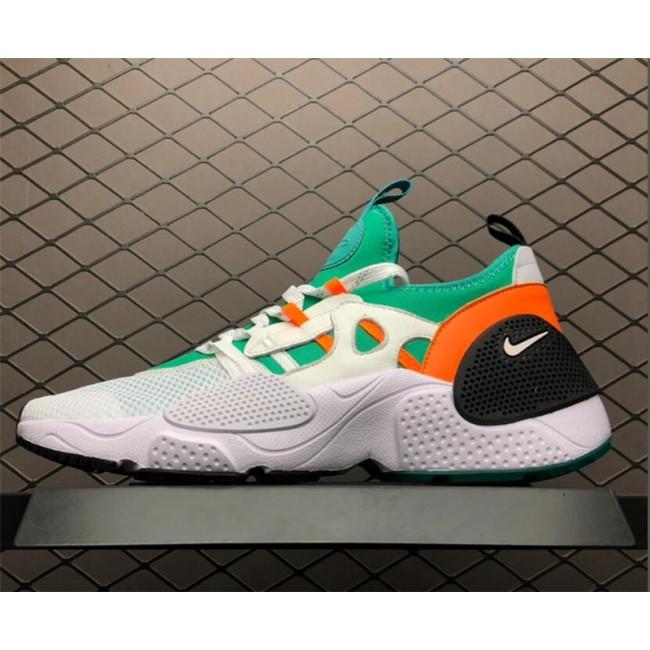 Mens Nike Huarache E.D.G.E. TXT QS White Clear Emerald