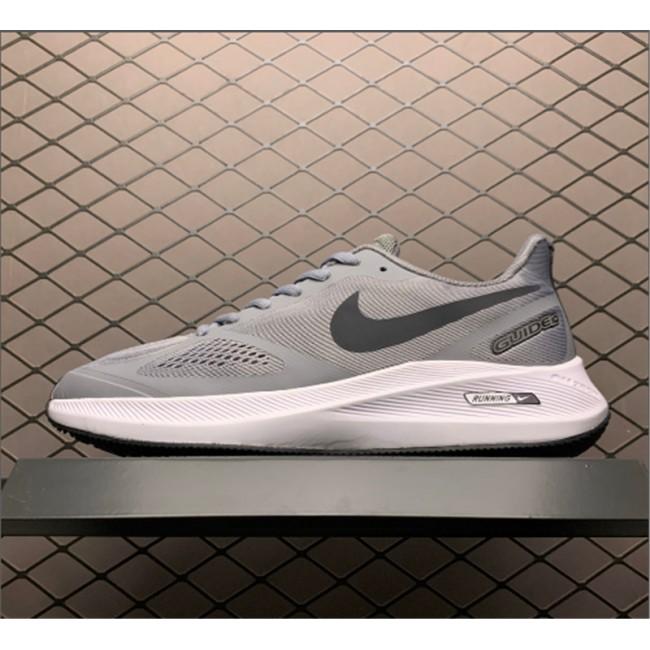 Mens Nike Zoom Winflo 7 Grey White For Running
