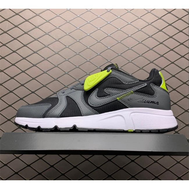 Mens Shoes Nike Atsuma Black Yellow White
