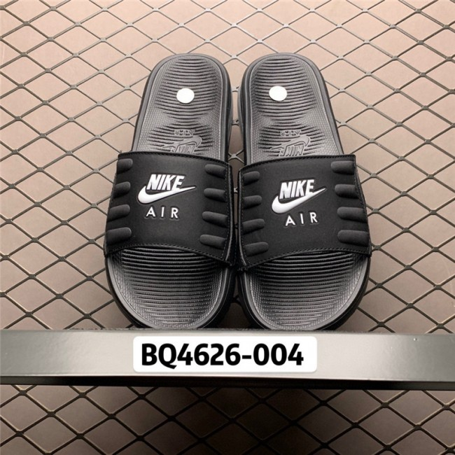 Mens/Womens 2020 Nike Air Max Camden Black Slide Sandals