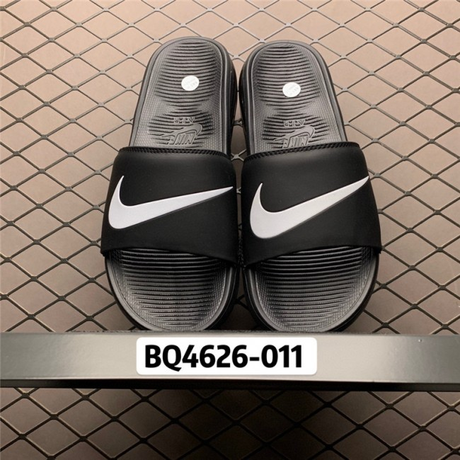 Mens/Womens Nike Air Max Camden Black White Slides