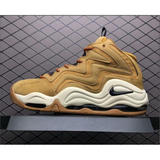 Mens 325001-700 Nike Air Pippen 1 Wheat Desert Ochre Velvet