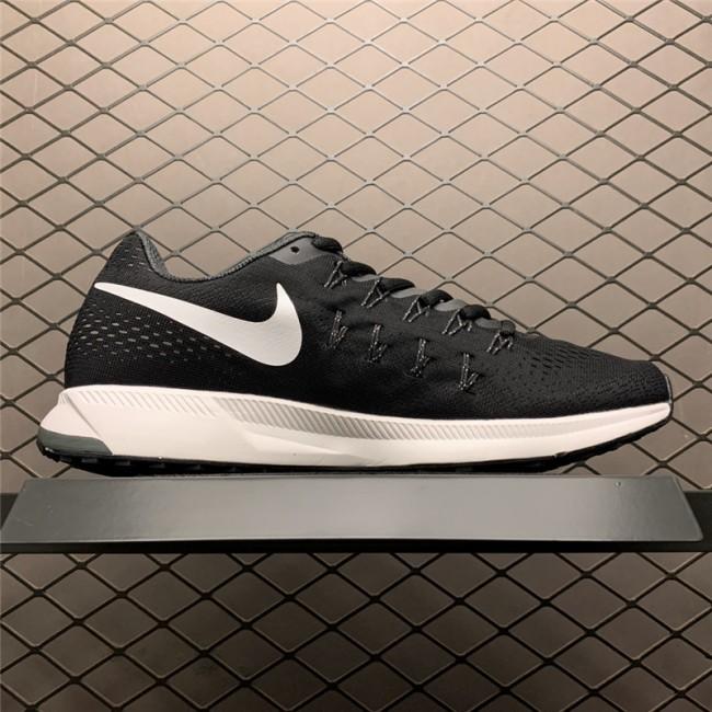 Mens Nike Air Zoom Pegasus 33 Black White