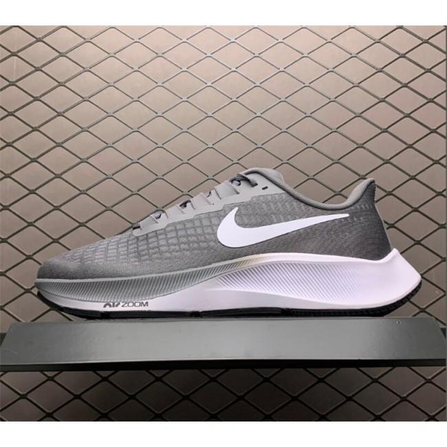 Mens Nike Air Zoom Pegasus 37 Grey White