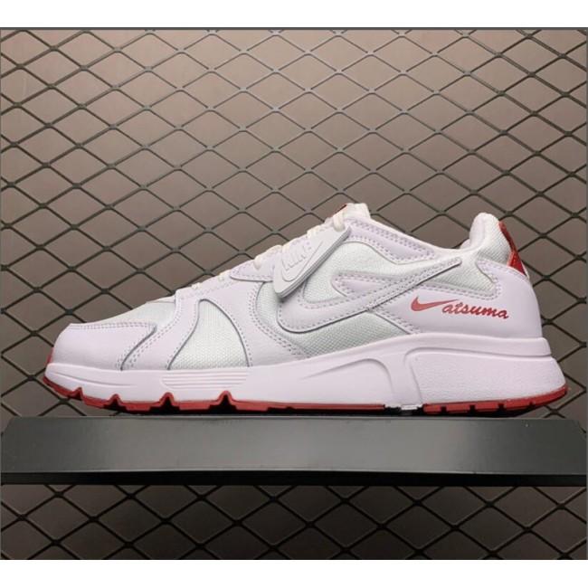 Mens Nike Atsuma White Red Sneakers