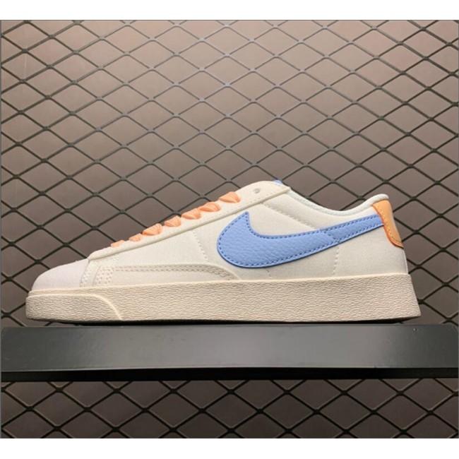 Mens/Womens Nike Blazer Low Beige Blue