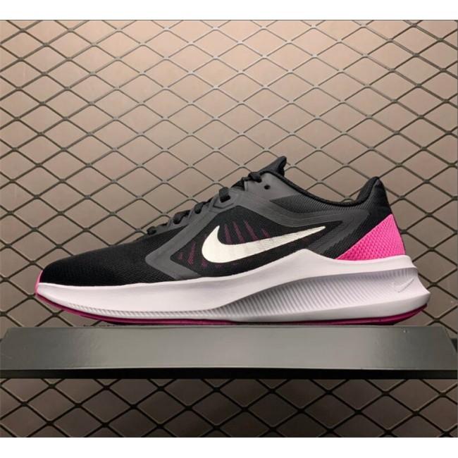 Mens/Womens Nike Downshifter 10 Black Pink White