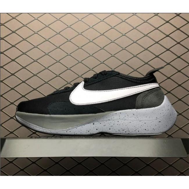 Mens Nike Moon Racer Black Wolf Grey Shoes AQ4121-001