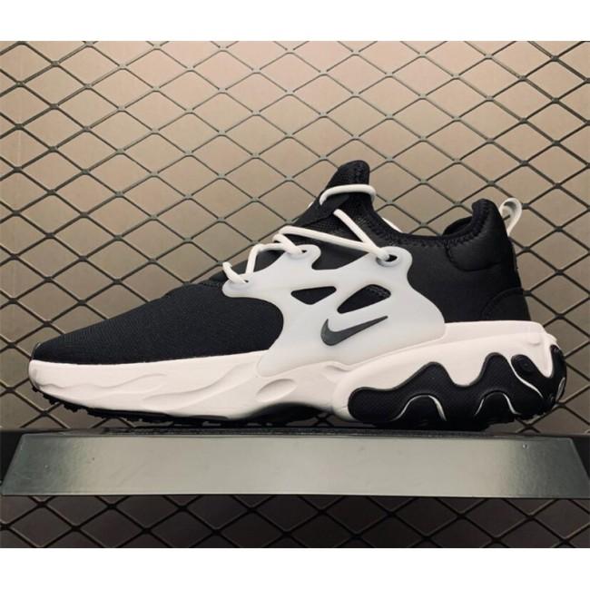 Mens/Womens Nike React Presto Ghost Black White AV2605-003