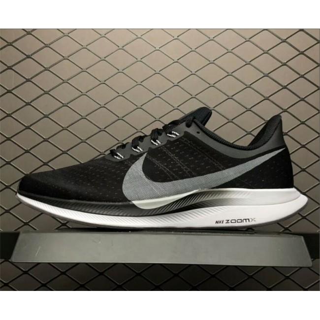 Mens Nike Zoom Pegasus 35 Turbo Black Vast Grey-Oil Grey-Gunsmoke