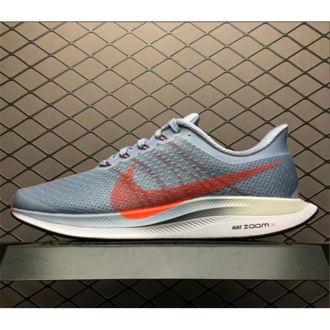 Mens Nike Zoom Pegasus 35 Turbo Obsidian Mist Bright Crimson Vast Grey