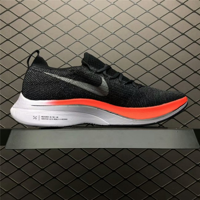 Mens/Womens Nike Zoom VaporFly 4 Flyknit Black Red White Running Shoes
