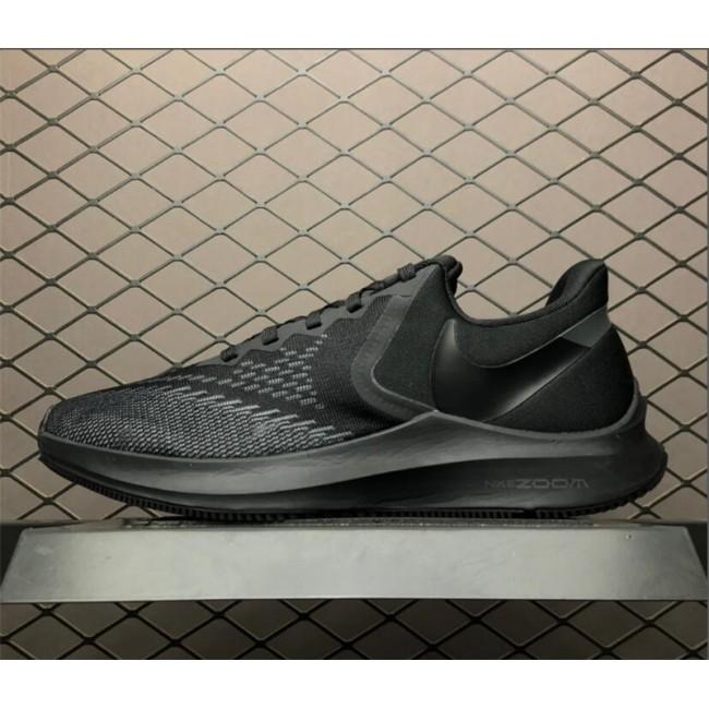 Mens Nike Zoom Winflo 6 All Black AQ7497-004