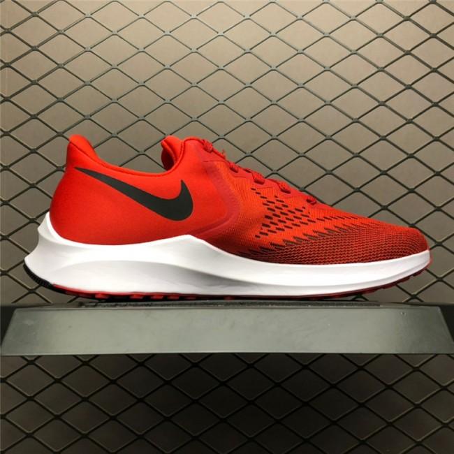Mens Nike Zoom Winflo 6 Red White Black On Sale AQ7497-600