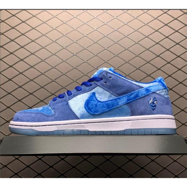 Mens/Womens StrangeLove x Nike SB Dunk Low Blue For Sale