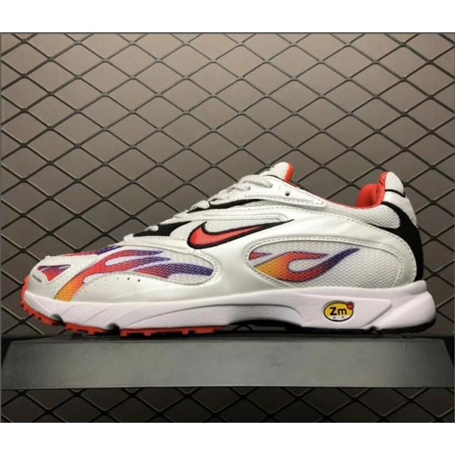 Mens/Womens Supreme x Nike Zoom Streak Spectrum Plus White