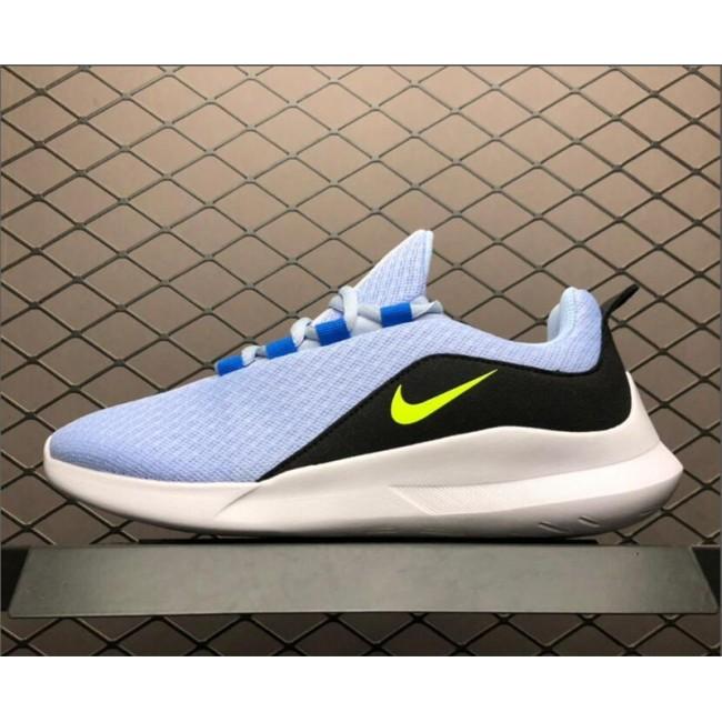 Womens Nike Viale Light Blue Sport Sneakers AA2181-401