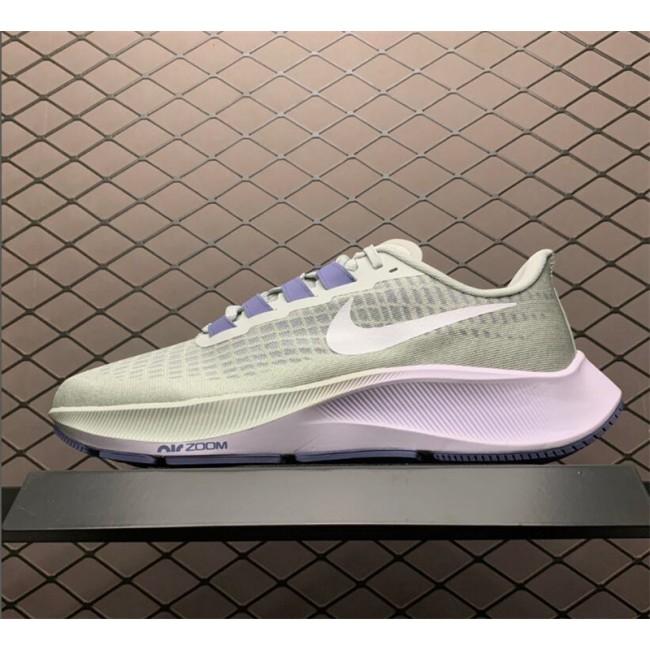 Womens Nike Zoom Pegasus 37 Grey White Online BQ9647-006