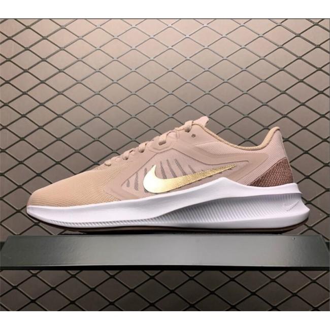 Womens Nike Downshifter 10 Stone Mauve-Barely Rose