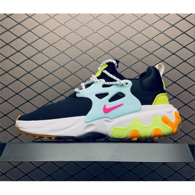 Womens Nike React Presto Black Teal Tint Cyber Online