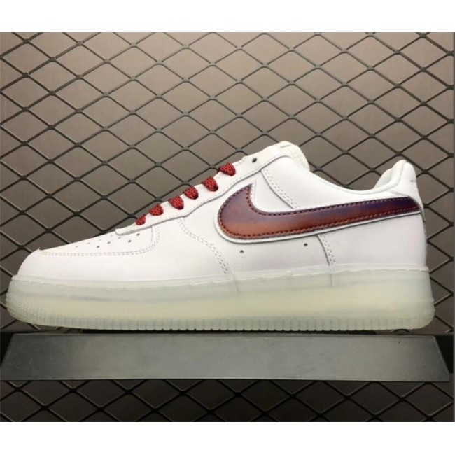Mens/Womens Nike Air Force 1 Low Swoosh White Red
