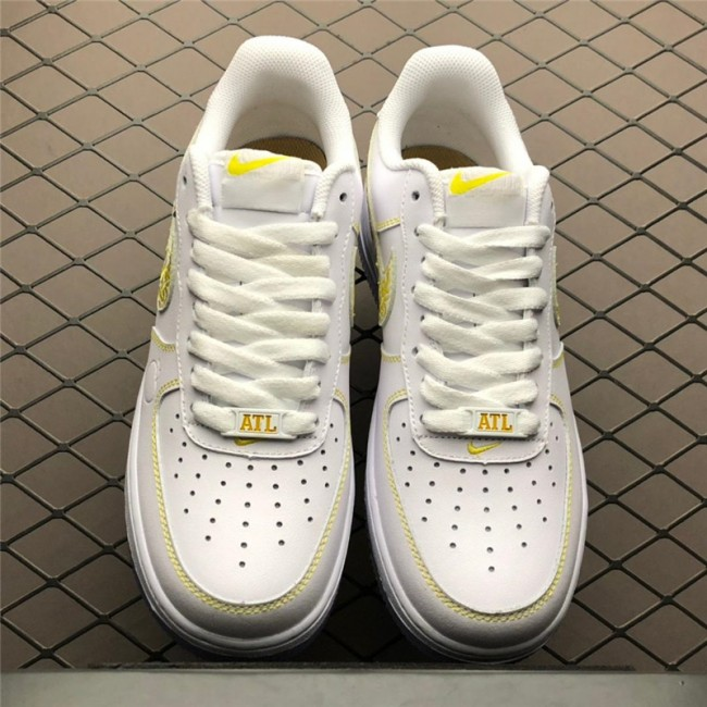 Mens/Womens Nike Air Force 1 City Pride White Metallic Gold-Desert