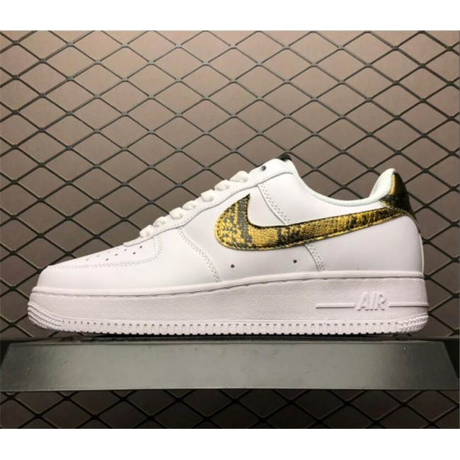 Mens/Womens Nike AF1 Low Retro Ivory Snake AO1635-100