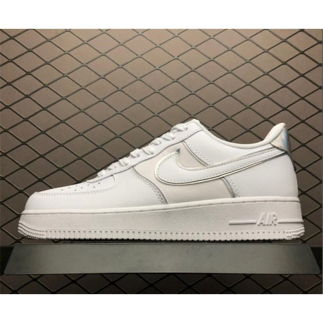 Mens/Womens Nike Air Force 1 Low All White AT6147-100