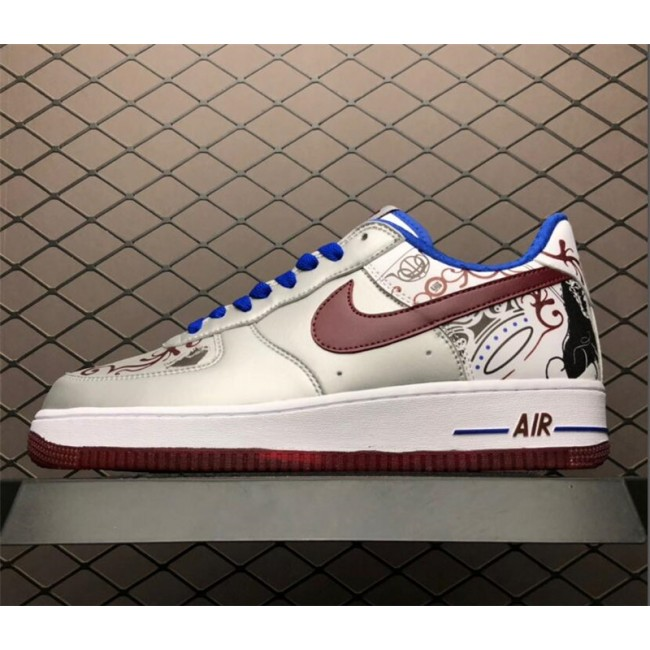 Mens/Womens Nike Air Force 1 Premium Lebron Collection Royale