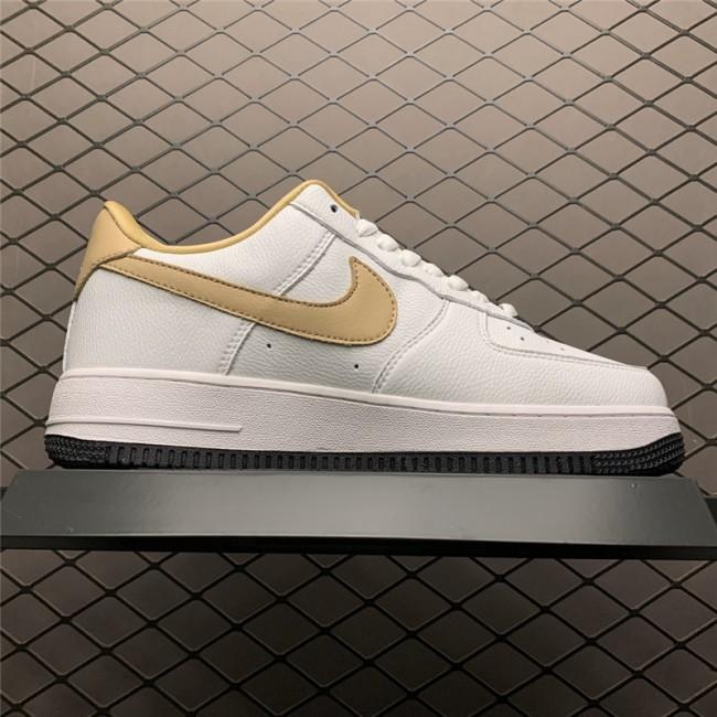 Mens/Womens Nike Air Force 1 07 White Earth Yellow