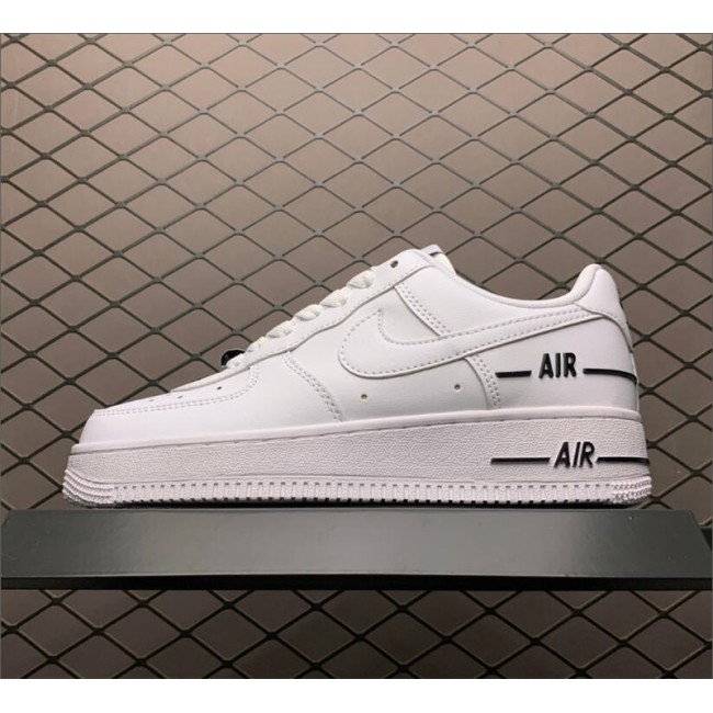 Mens/Womens Nike Air Force 1 Added Air White-Black
