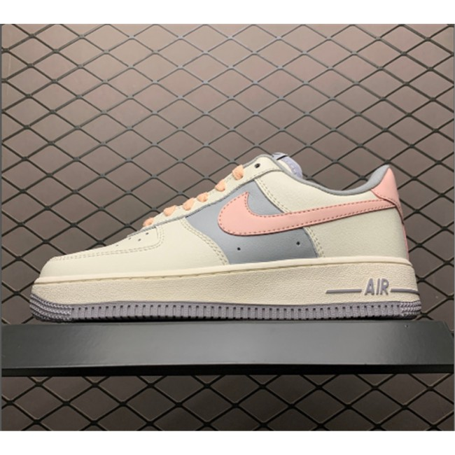 Womens Nike Air Force 1 Low Pink White Shoes CW7584-101